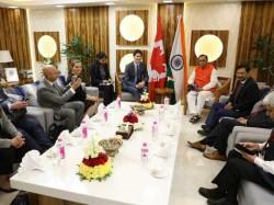 Vijay Rupani Justin Trudeau Discussed Cooperation