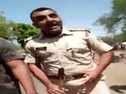 Ahmedabad Police Gundagiri With Student Capture Camera Vira