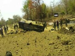 Chhattisgarh 10 Crpf Jawans Killed Ied Blast Naxals Sukma