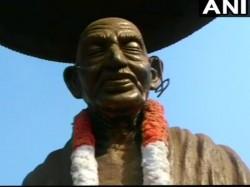 Mahatma Gandhi Statue Vandalised Kerala After Series Such Incidents