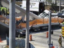 Usa Florida University Bridge Collapses Several Died