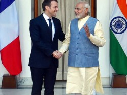 Pm Modi French President Macron Issue Joint Statement Delhi
