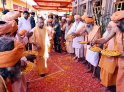 Yogi Adityanath Celebrates Ram Navami At Gorakhpur Prays Virgo Wishes Nation