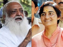 Sadhvi Pragya Says Rape Accused Asaram Is Innocent