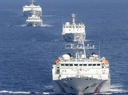 Australian Warships Challenged By Chinese Navy In South China Sea