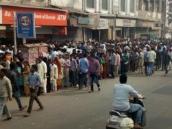 Bihar Gujarat Madhya Pradesh Suffering From Cash Crisis