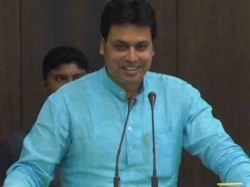 Tripura Cm Biplab Dev Says Youth Would Have Got 5 Lac Rupees If They Set Up Pan Shop