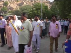 Parikrama Protest Against Mining Mafia At Idar
