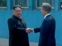 North Korean Leader Kim Jong Un Makes History Crosses The Southern Border