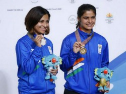 Commonwealth Games 2018 Gold For Manu Bhaker Silver For Sidhu In 10m Air Pistol