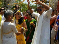 Milind Soman Ankita Konwar Finally Got Married Pictures Went Viral