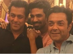 Salman Khan Has Blast With Race 3 Co Stars Saqib Saleem Birthday