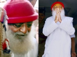 Asaram Bows Down On Knee After Hearing Life Imprisonment Cries In Court Room
