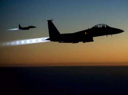 Usa Britain France Launched Strike Syria