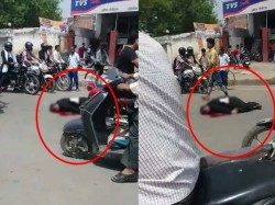 Allahabad After Murder Lawyer Rajendra Srivastava No One Helps Him People Shoot Video Only