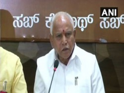 Karnataka Election Bs Yeddyurappa Says Congress Is Trying To Come To Power Through Back Door