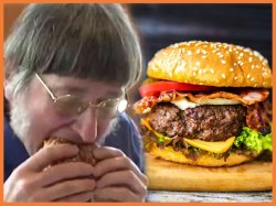 Year Old Man America Has Eaten 30 Thousand Burgers Createed Bizarre Record