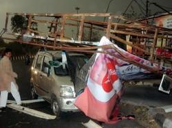 Prime Minister President Rahul Gandhi Condoles Loss Lives Storms