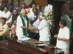 Congress Jds Government Karnataka Assembly Floor Test Live Update