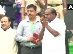 Hd Kumaraswamy Oath Ceremony Chief Minister Karnataka Live Updates