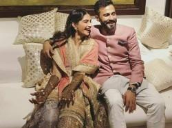 Sonam Kapoor Anand Ahuja Mehendi Ceremony Karan Johar Rani Mukherjee Anil Kapoor See Pictures