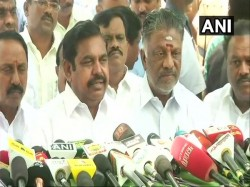 Sterlite Protests Cm Palaniswami Defends Police Action Says Natural Course Against Attack