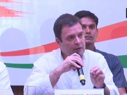 Congress President Rahul Gandhi S Press Conference In Bengaluru Karnataka Assembly Elections
