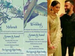 Sonam Kapoor Anand Ahuja Wedding Invite Farah Khan Breaks Her Leg Before Sangeet