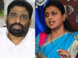 She Drinks Acted In Blue Films Tdp Man Launches Personal Attack On Roja