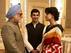 The Accidental Prime Minister Anupam Kher Introduces Actors Playing Rahul And Priyanka Gandhi