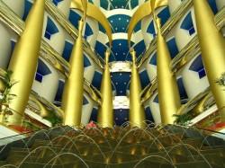 Burj Al Arab Restaurant Of Dubai Using Gold In Every Dish