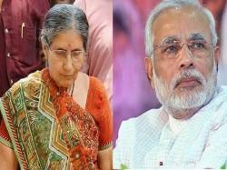 Pm S Wife Jashodaben Rebuts Anandiben Patel On Marital Status Says He Is Ram For Me