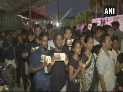 Rajinikanth S New Movie Kaala Releases Today Fans Burst Crackers