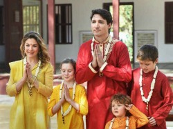 Canadian Pm Justin Trudeau Describes India Trip As Trip End All Trips