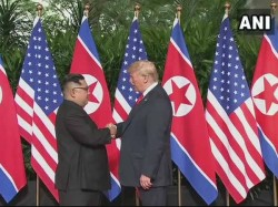 Donald Trump Becomes The First Us President Meet Any North Korean Leader