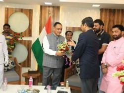 Cm Vijay Rupani Went For 6days Iserael Tour With Delegation
