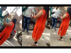 Year Woman Arrested Allegedly Shooting Auto Rickshaw Driver Fight Incorrect Parking In Gurugram