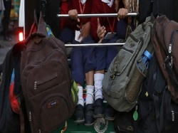 Delhi Rabea Girls School Locks Kids Basement Delay Payment Fees
