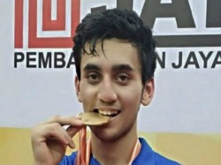 Badminton Lakshay Sen Won Gold Badminton Championship