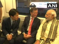 South Korean President Moon Jae And Pm Narendra Modi Delhi M