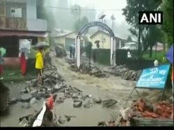 Cloudburst Hit Munsiari Balati Pithoragarh No Casualty Reported