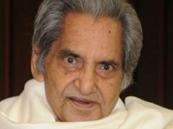 Hindi Poet Gopaldas Neeraj Passed Away This Evening At The A