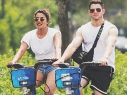 Priyanka Chopra Goes Cycling With Boyfriend Nick Jonas His F