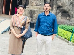 Ias Tina Dabi Posted Pictures From Ellora Caves Responds Fan