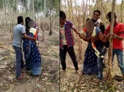 A Video From Unnao In Which 4 Men Are Molesting A Woman Has Gone Viral