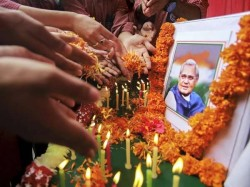 Photos Tribute Former Prime Minister India Atal Bihari Vajp