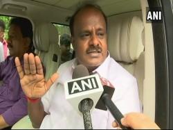 Karnataka Cm Kumaraswamy Big Statement I M Told New Chief Minister Will Take Oath On 3 September