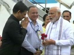 Pm Modi Is On Visit Gujarat