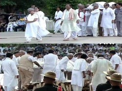 Daughter Namita Performs Last Rites Atal Bihari Vajpayee At