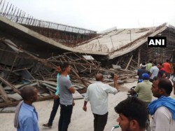 Lintel A Flyover On National Highway 28 Collapsed Basti 4 P